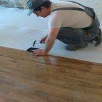 Правильная укладка ламината на бетонный пол с подложкой
