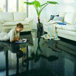 Полимерные наливные полы в квартире своими руками