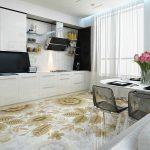 Какое напольное покрытие для кухни лучше выбрать: плитка, линолеум, ламинат, паркет