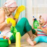 Уход за линолеумом: чем мыть чтобы блестел и как отмыть зеленку