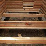 Как сделать деревянный или бетонный пол в частном доме