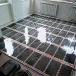 Инфракрасный пленочный теплый пол под плитку