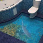 Как сделать наливной пол в ванной комнате своими руками