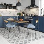 Способы укладки плитки на пол кухни