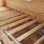 Устройство деревянного пола на лагах: технология монтажа
