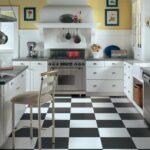 Напольная керамическая плитка для кухни: достоинства, недостатки и фото в интерьере
