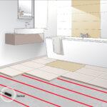 Как сделать теплый пол в ванной комнате своими руками