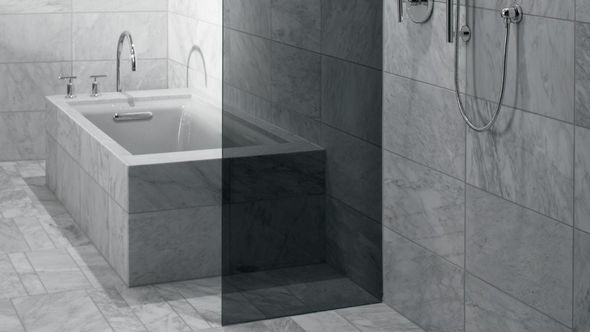 Напольная плитка для ванной комнаты: советы по выбору и фото в интерьере