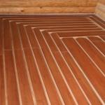 монтаж на деревянных плитах