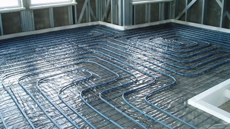 Технология монтажа теплого водяного пола с бетонной