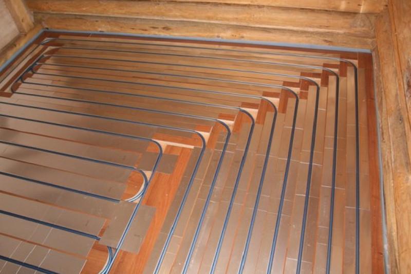 теплый пол на деревянный пол