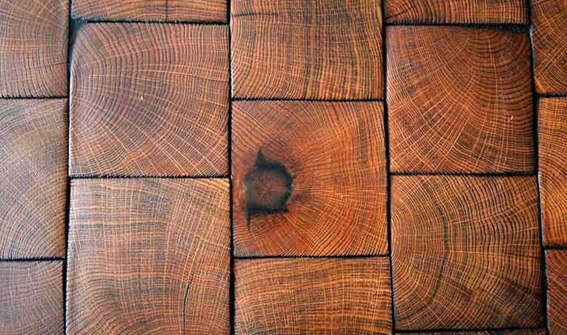 Wood tile ceramic