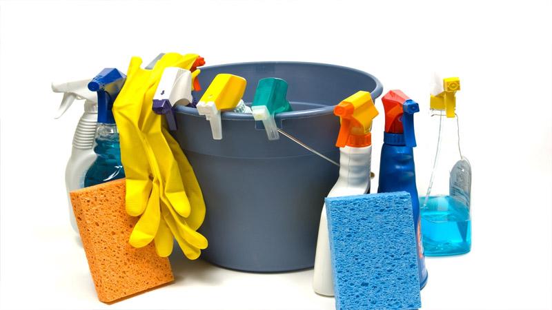 Чем отмыть зеленку - моющие средства