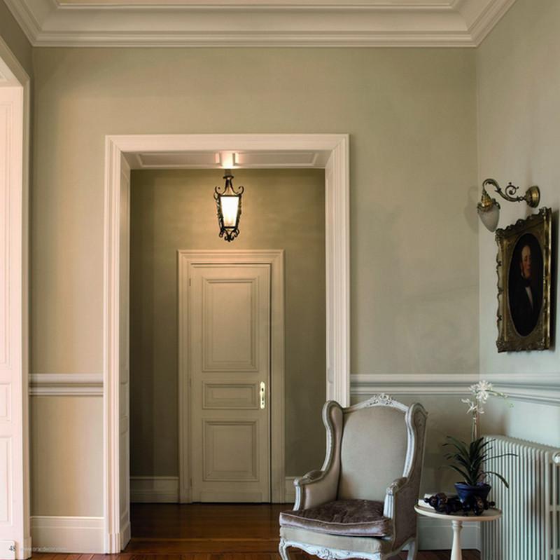 Плинтус в доме из оцилиндрованного бревна Форум о дизайне интерьера