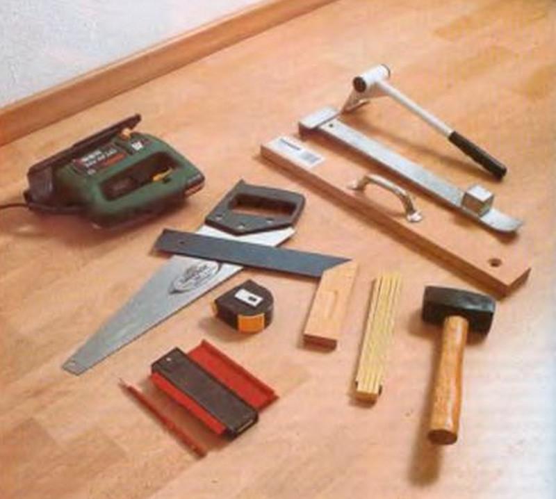 Инструмент для укладки ламинат своими руками