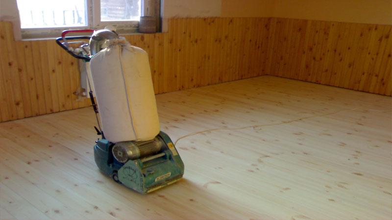 Как выровнять деревянный пол под линолеум циклевкой