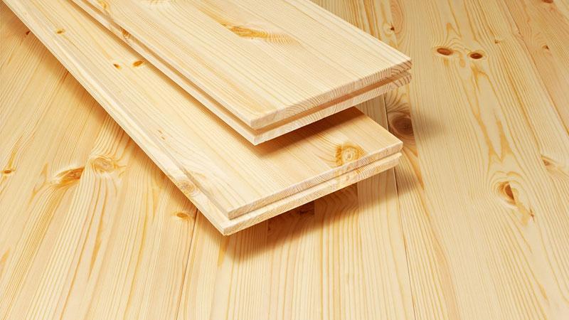 Устройство пола в деревянном доме - лучше всего использовать дерево