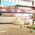 Виды ковролина для детской
