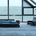 Ковролин - идеальное покрытие для спальной комнаты