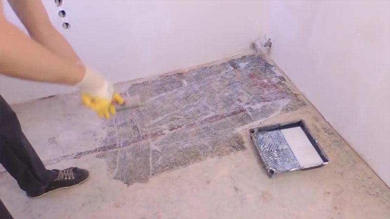 Základná podlaha po poteru