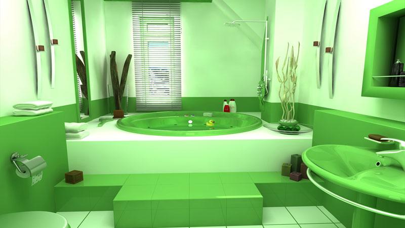 Напольная плитка для ванной должна сочетаться с остальным оформлением