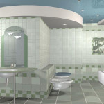 Итальянская плитка для ванной комнаты