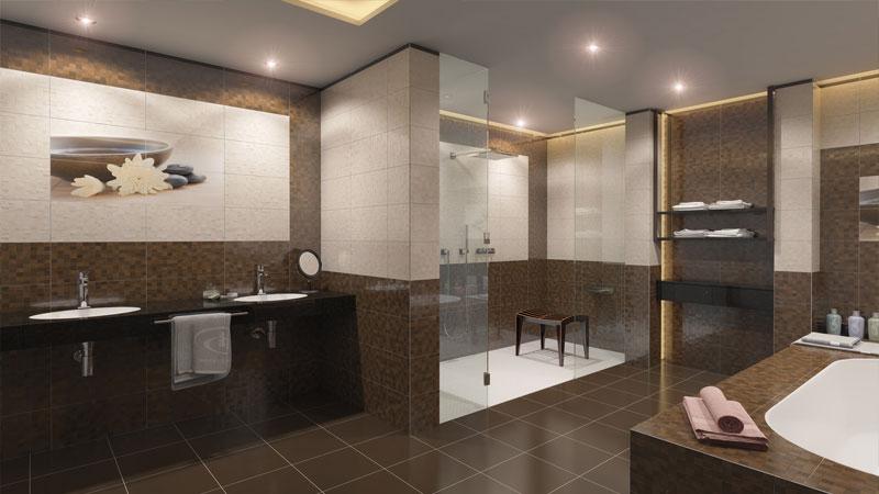 Качественная напольная плитка в ванную комнату