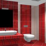 Яркая плитка для ванной комнаты