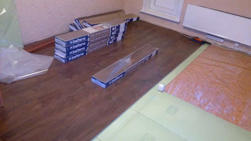 Правильный расчет количества ламината на комнату